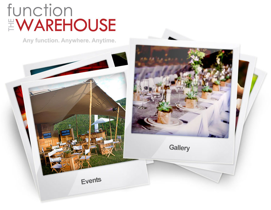 The Function Warehouse - Event hire, event coordinators and event management